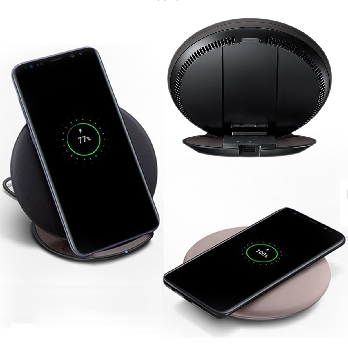 chargers fast qi wireless charger charging for samsung. Black Bedroom Furniture Sets. Home Design Ideas