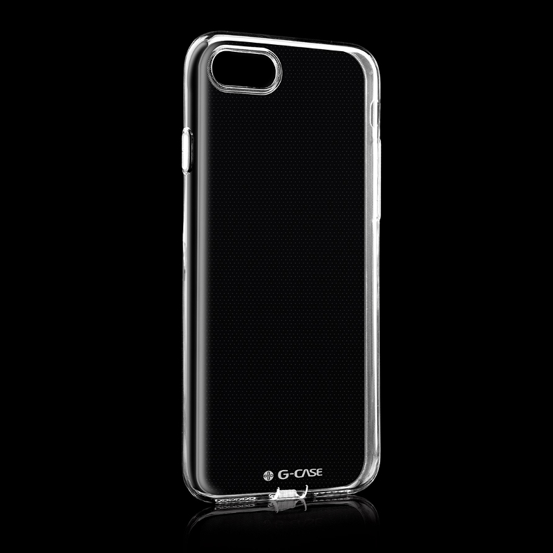 Glossy 0.5mm Ultra-thin TPU Case Protective Shell Back Case Cover For iPhone 7 4.7 Inch