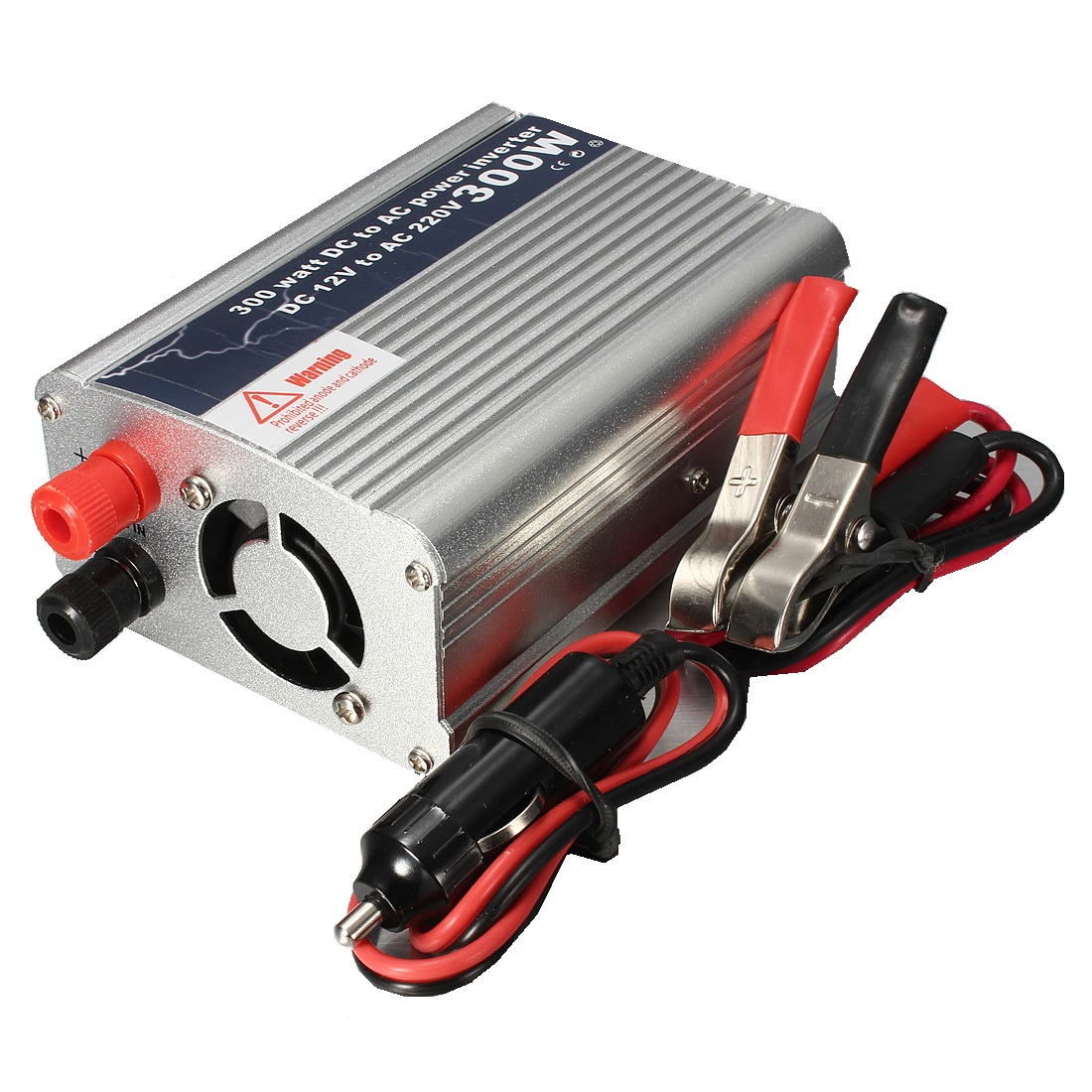 300W USB DC 12V to AC 220V Power Inverter Converter Cha