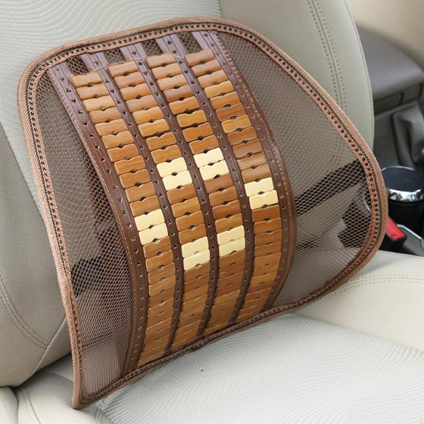 Summer Bamboo Car Back Cushion Seat Chair Ventilate Cus