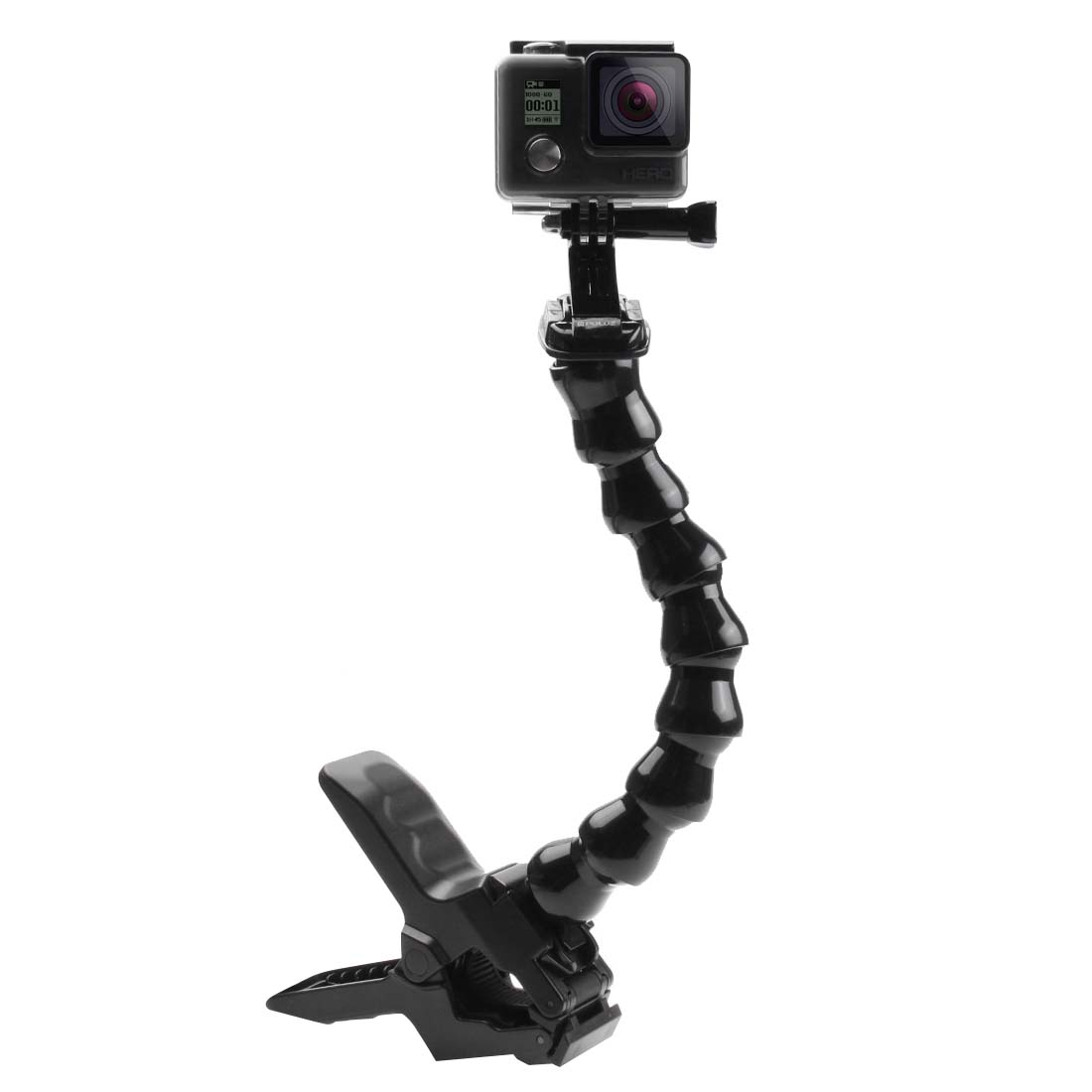 PULUZ PU179 Jaws Flex Bent Neck Clamp Mount for Gopro S