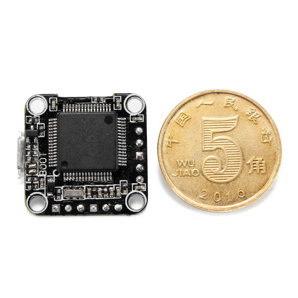 16x16mm Super_S STM32F405 F4 2-4S Mini Flight Controller Board with 5V 1A BEC Support D-shot