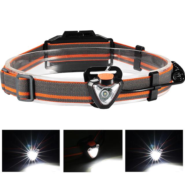 XANES 800LM Headlamp Flashlight 3 * AAA Energy Saving L