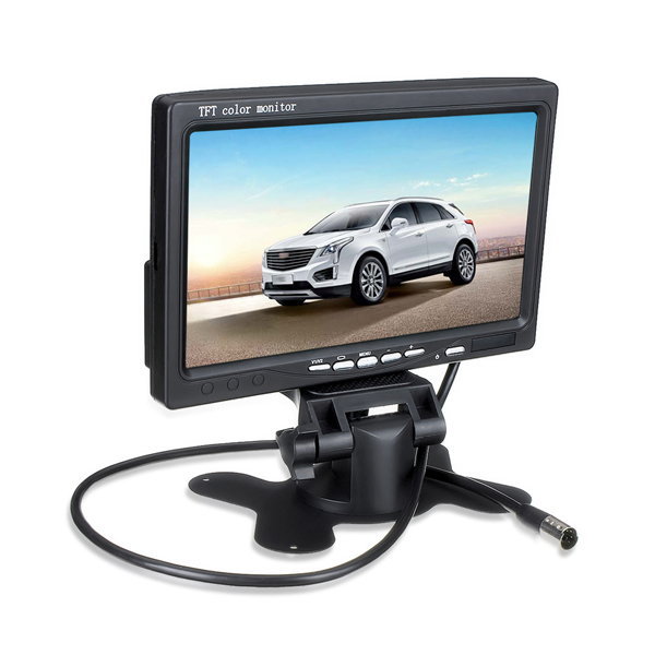 7 Inch TFT LCD Screen Car Monitor For Reversing Rear Vi