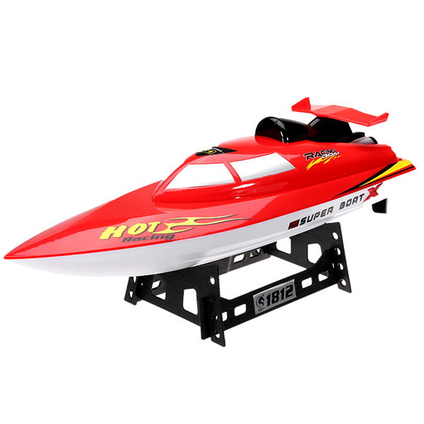 QiJun 1812-1 2.4G 30KM/H High Speed Wireless Remote Control  Rc Boat With Battery