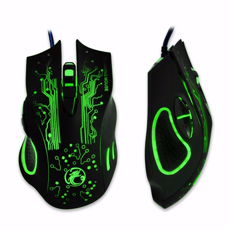 Estone X9a 2400DPI Wired Gaming Mouse With 16-million-c