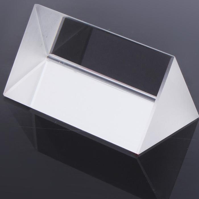 5CM Triple Triangular Prism Physics Teaching Light Spec