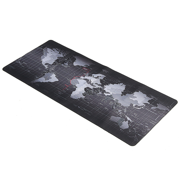 700x300x3mm Large Size World Map Mouse Pad For Laptop C