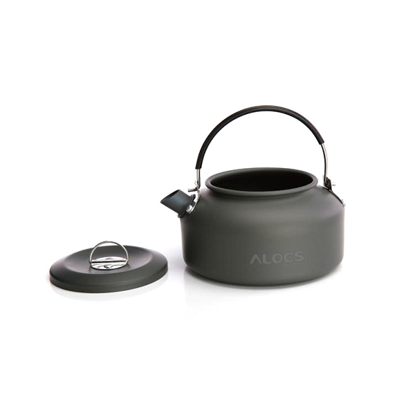 Alocs Camping Hiking 0.8L Water Kettle Portable Picnic