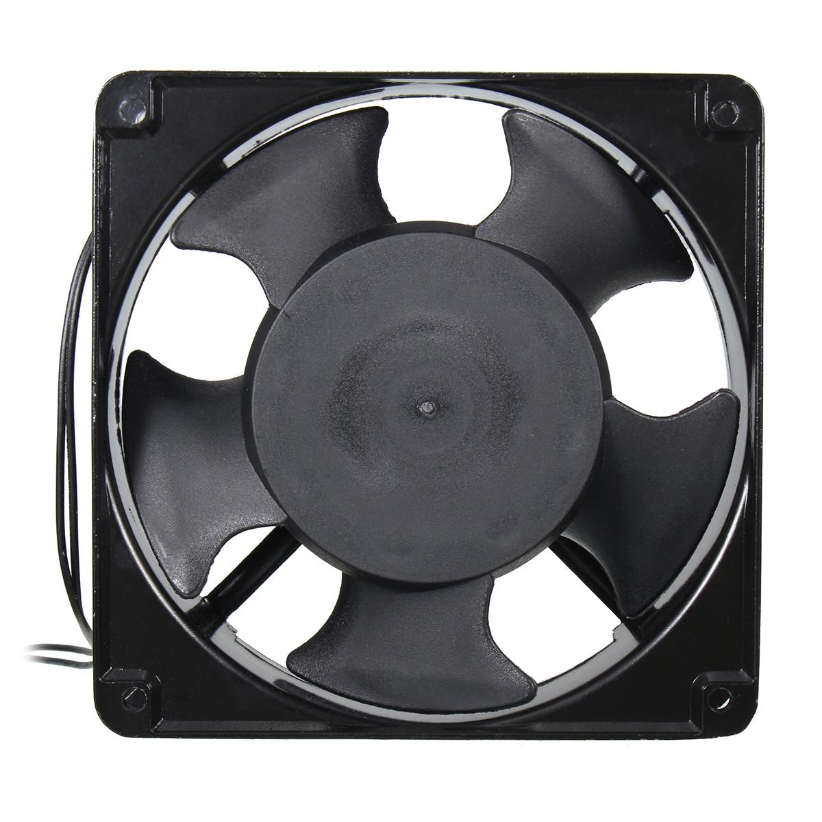 220V 12CM Solder Absorber Fan For Soldering Iron KTV Cabinet Was Listed
