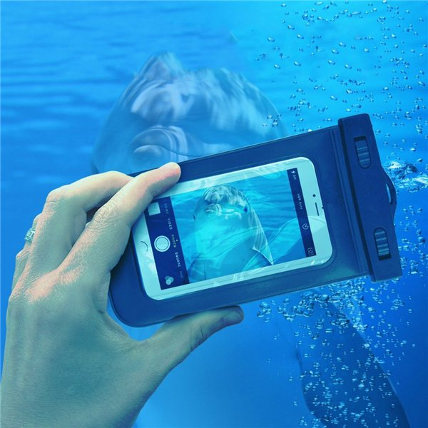 Waterproof Phone Bag Under Water Pouch Case Cover For i