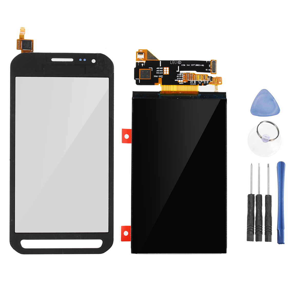 LCD Touch Screen Digitizer Assembly + Repair Tools for
