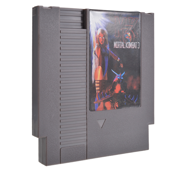 Mortal Kombat 3 72 Pin 8 Bit Game Card Cartridge for NE