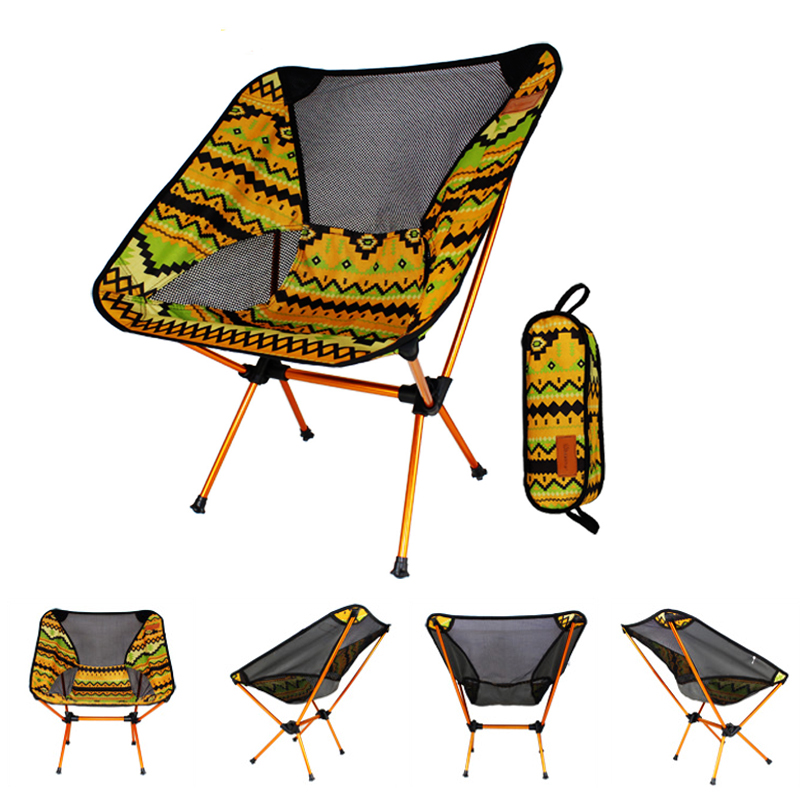 IPRee Portable Camping BBQ Folding Chair Ultralight Alu