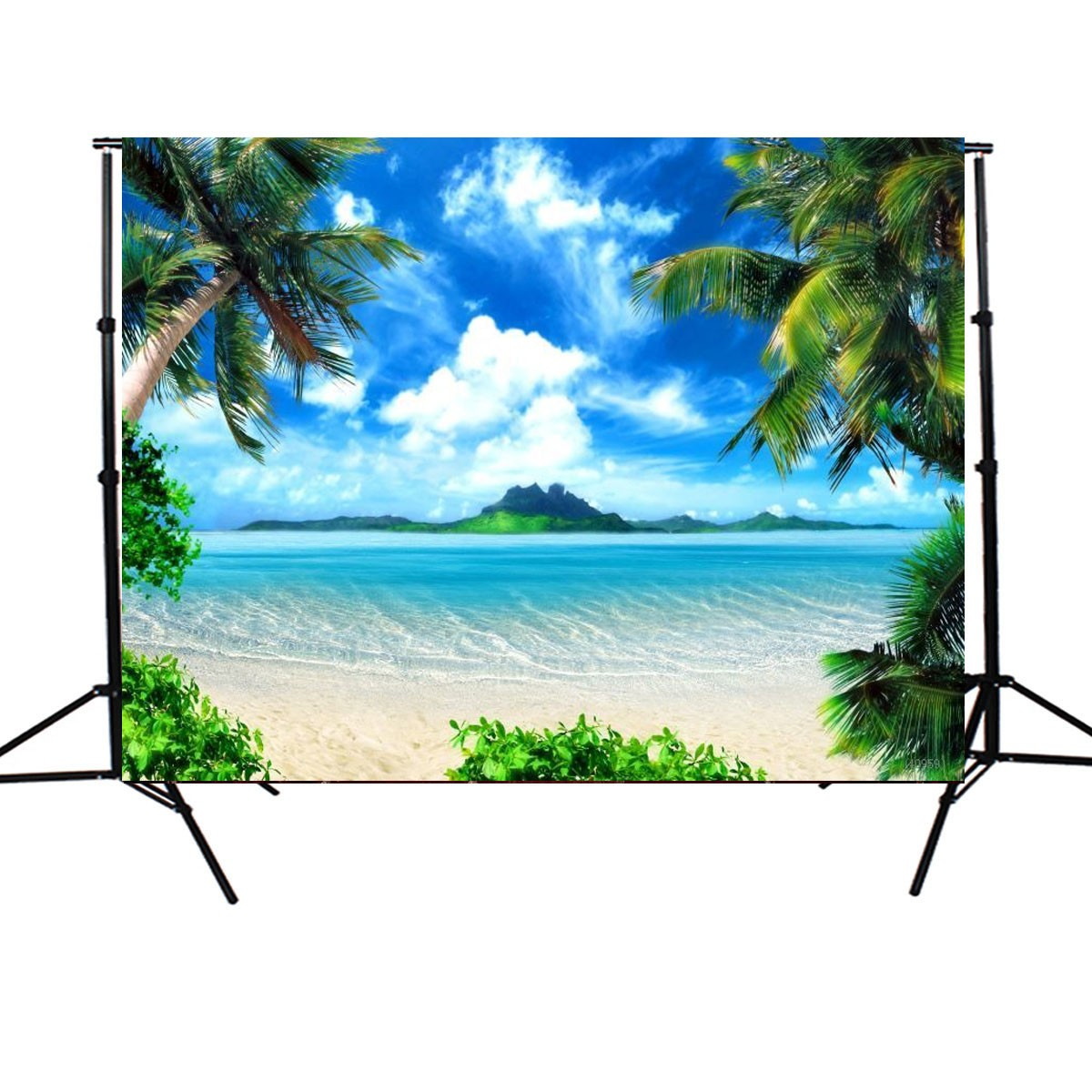 5X7ft Vinyl Sunshine Sea Beach Photography Backdrop Bac
