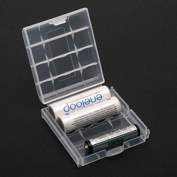 Battery Box Storage Case Holder for AA AAA Batteries