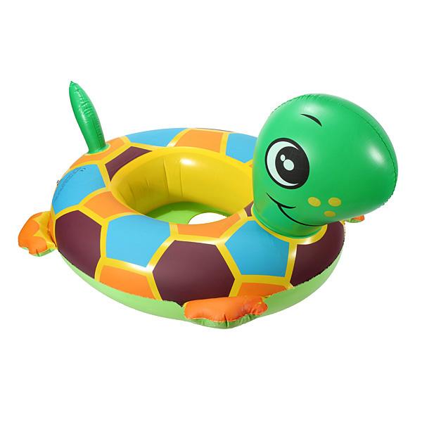 Baby Child Turtle Swim Ring Seat Water Tortoise Seat Swimming Ring