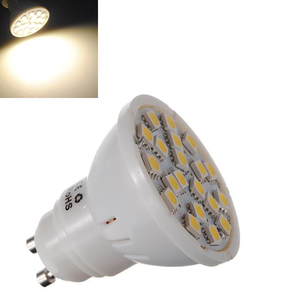 GU10 5W 320LM Warm White 20 SMD 5050 LED Spot Lightt La