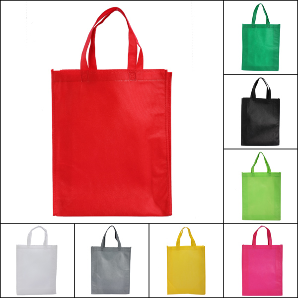 Shopping Cloth Fabric Bag Pure Color Tote Bag Shoulder Bag