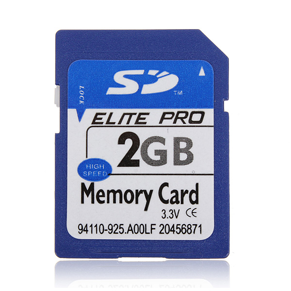 2GB 2G SD HC Secure Digital High Speed Flash Memory Card For Camera