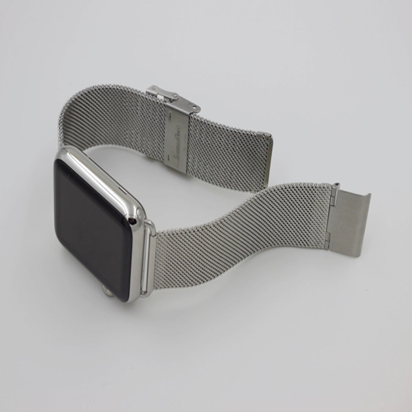 42mm Slim Metal Watchband Connector Wrist Strap For Apple Watch