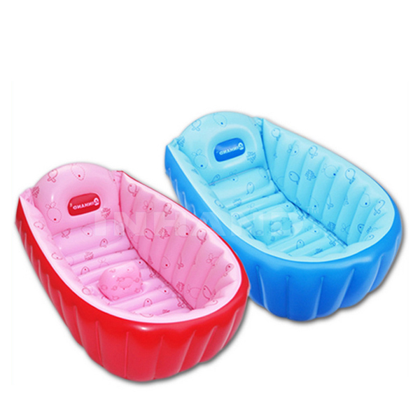Summer Portable Large Baby Toddler Inflatable Bathtub Thick Bath Tub Pool