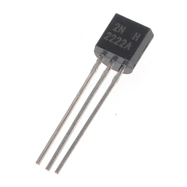 1PC Transistor MOT/ON TO-92 2N2222 NPN 40V 0.8A