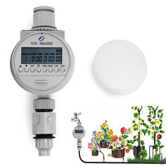 Solar Power Automatic Water Timer Smart