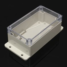 Electronic Instrument Case PC Waterproof Plastic Transparent Enclosure Box