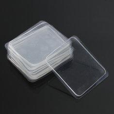 10Pcs Transparent Silicone Gel Pad Anti Slip Multifunction Non-Slip Wall Sticker Free Adhesive