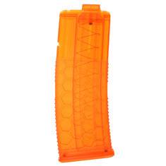 WORKER Toys Tinted Orange Hexmag For 36mm Soft Dart Kit for Nerf Retaliator Accessory