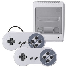 SFC Classic Game Console Built-in 400 Games AV Out Dual Player
