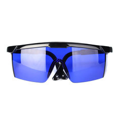 Golf Ball Finder Locating Glasses Protection Goggles Blue Lens Less Straining Sunglasses with Box