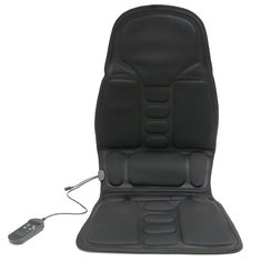Massage Heating Relaxation Seat Cushion Neck Lumbar Back Pain Relief Vehicle-mounted