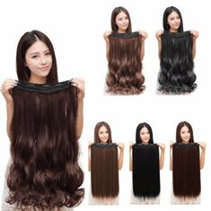 Women Clip In Hair Extensions Long