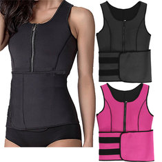 IPRee® Waist Trainer Sweat Belt Sauna Suit Tops Sport Body Shaper Slimming Corset Vest
