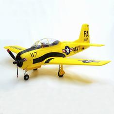 Eleven Hobby T-28 T28 Trojan Customized Yellow 1100mm 43