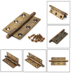 Dark Copper Archaize Crown Head Sealed Hinge Furniture Hardware