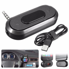 DOOSL Universal 3.5mm Wireless Hand free Car Radio FM Transmitter MP3 Palyer