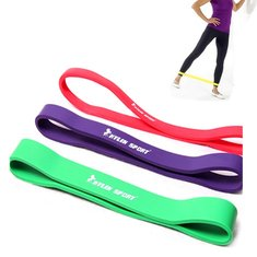 Yoga Fit Pull Up Resistant Band Pilates Fitness Exercise Loop