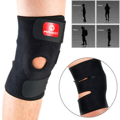 Sports Adjustable Running Elastic Knee Support Brace Strap Polyester Kneepad Injury Pain Relief