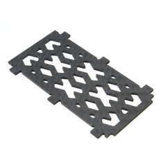 Realacc Real3 Frame Kit Spare Part 1.5mm Carbon Fiber Bottom Board