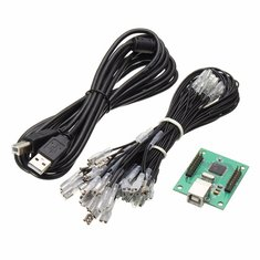 DIY Arcade Encoder Board Controller USB Cable Wire For 2 Player PC Jamma Game