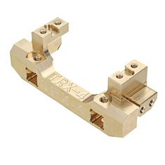 1PCS Traxxas TRX-4 RC Car Spare Parts Front Bumper Mount Gold Servo Moving Bracket Holder