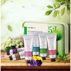 BAIMISS 6pcs Hand Cream Set Anti-Aging Wrinkles Replenishing Moisturizing Whitening Skin Care
