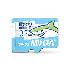 MIXZA Shark Edition Memory Card 32GB Micro SD Card Class10 For Smartphone Camera MP3