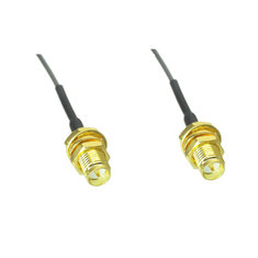 2PCS 2.4G RP-SMA Female To U.FL IPX 1.13 Pigtail Cable 20cm For FPV RC Drone