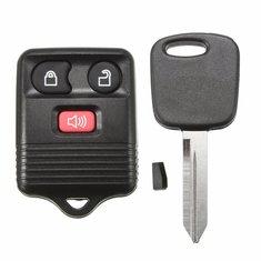 Car Keyless Entry Remote Key Fob Transponder Chip 3 Button for Ford F150 F250 F350