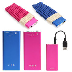 1050mA Electric Heater Power Bank Portable USB Rechargeable Pocket Hand Warmer Support