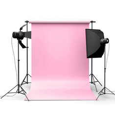 5x7ft Pure Pink Photography Background Cloth Backdrop For Studio